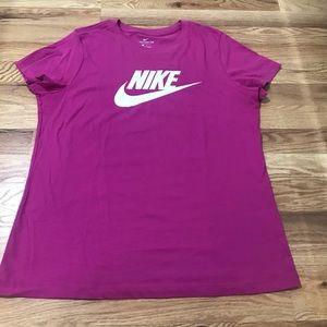 Bright Pink Nike shirt